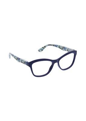 Peepers ***Peepers Style Brushwork Focus Navy Reading Glasses +2.5