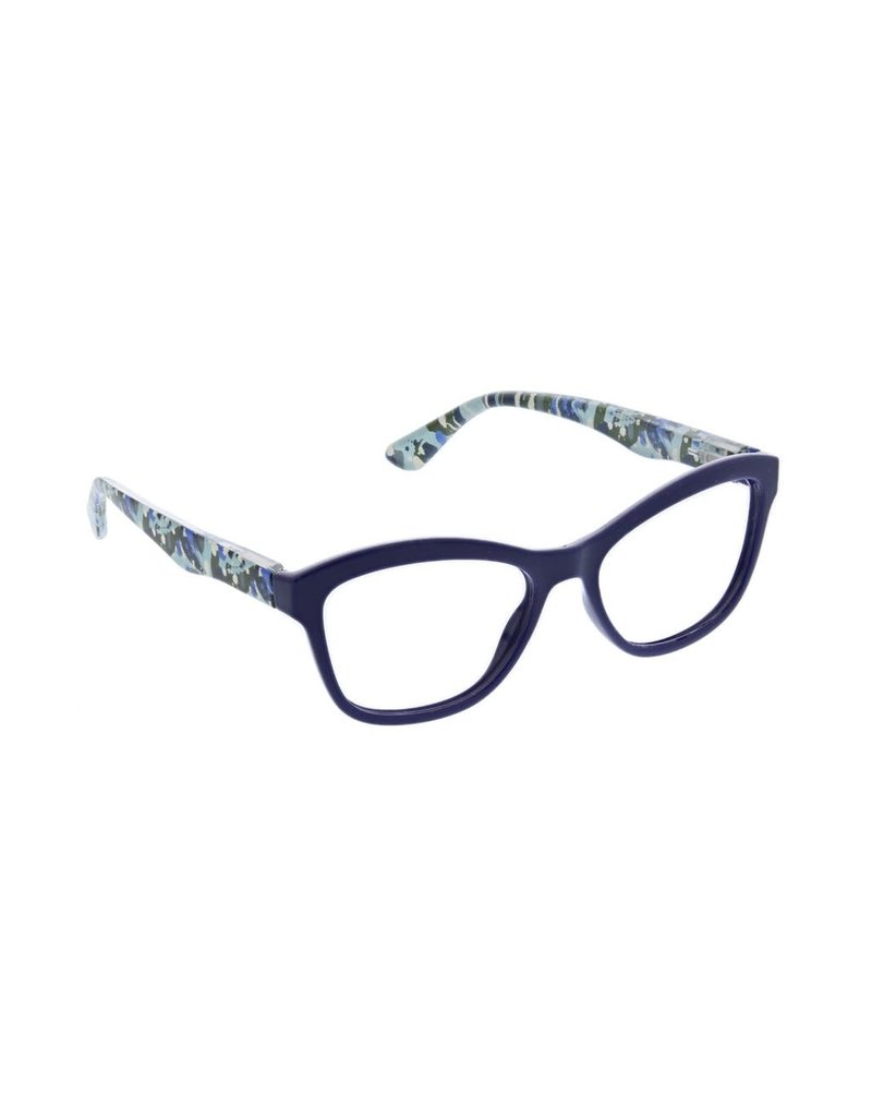 Peepers ***Peepers Style Brushwork Focus Navy Reading Glasses +2.5