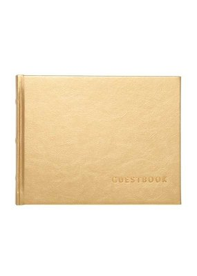 CR Gibson ***Gold Gilded Luxury Guest Book