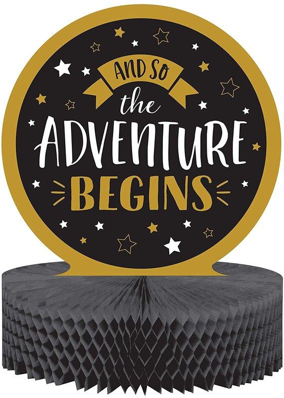 ****Grad Adventure Honeycomb Centerpiece