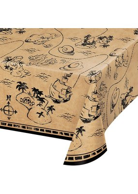 ***Pirate Treasure Plastic Tablecover
