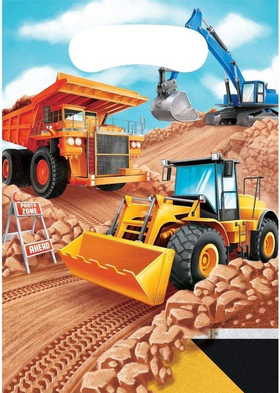 *****Big Dig Construction Loot Bags