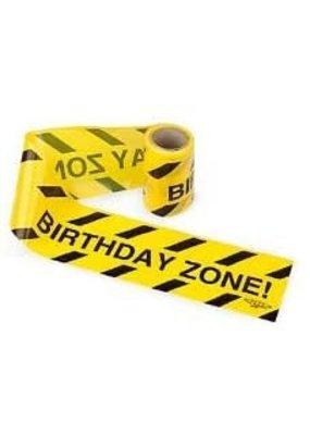 ***Birthday  Zone Caution Tape