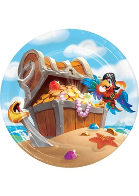 ***Pirate Treasure 7in Plate