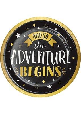 ***Grad Adventure 9in Plate