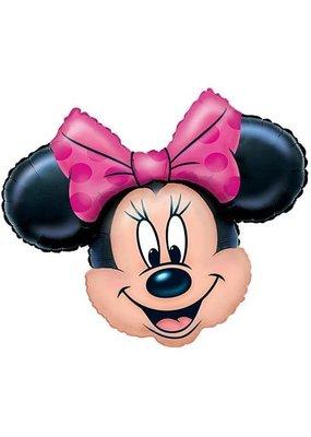 ***Minnie Mouse Jumbo Head Mylar Balloon