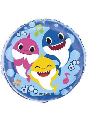 """***Baby Shark 18"""" Mylar Balloon"""