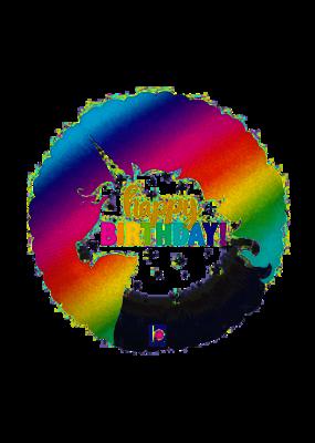 "***Unicorn Holographic 18"" Mylar Balloon"