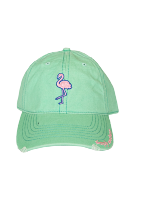 ***Simply Southern Flamingo Hat