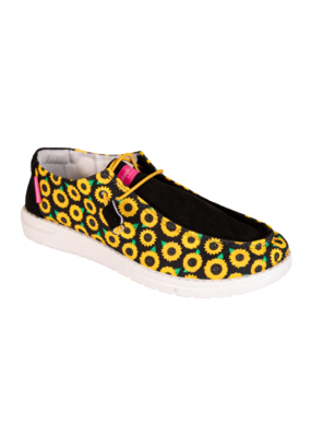 ***Simply Southern Slip On Sunflower Shoe