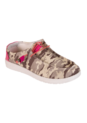 ***Simply Southern Slip On Camo Shoe