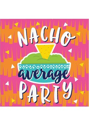 ***Fiesta Fun Nacho Party Beverage Napkins 16ct