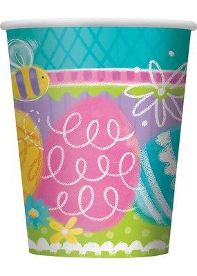 ***Spring Egg 9oz Cups