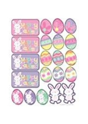 ***Happy Easter Stickers 4 sheets
