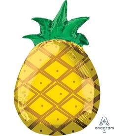 "***Pineapple 18"" Junior Shape Mylar"