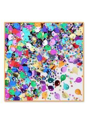 ***Balloons & Stars Confetti .5oz Bag