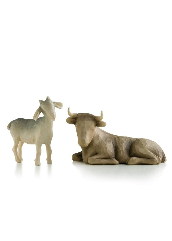 ****Willow Tree Ox and Goat