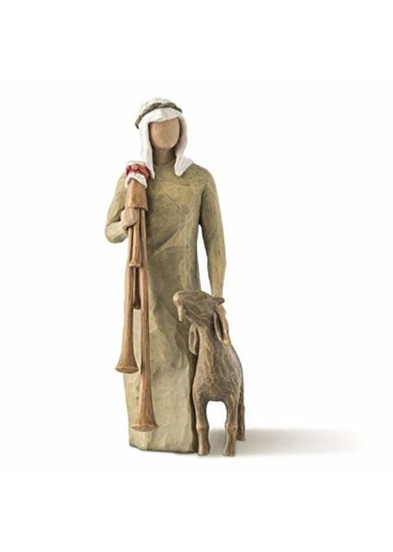 ****Willow Tree Zampognaro Shepherd with Bagpipe