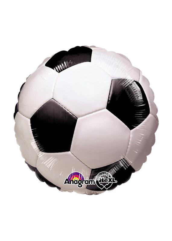 """****Soccer Ball 18"""" Mylar Balloon"""