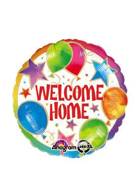 "***Welcome Home 18"" Mylar Balloon"