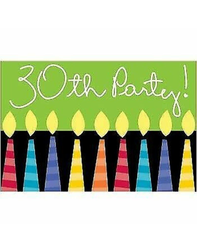 ***30th Birthday Invitations