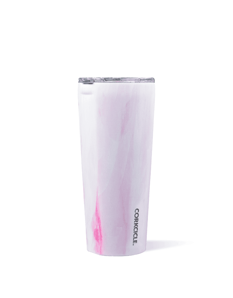 Corkcicle ***Corkcicle Pink Marble 24oz Tumblers