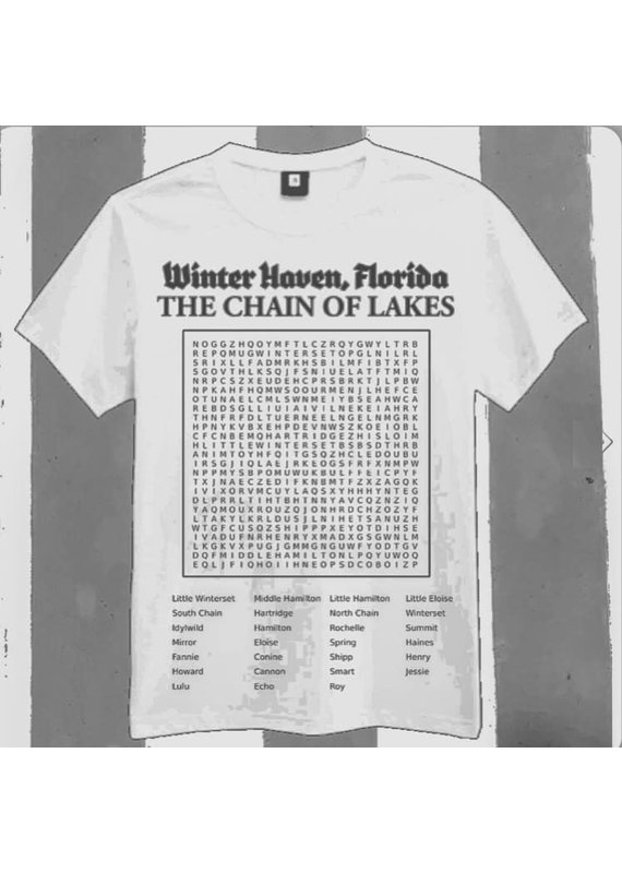 ***Winter Haven Word Search Shirt
