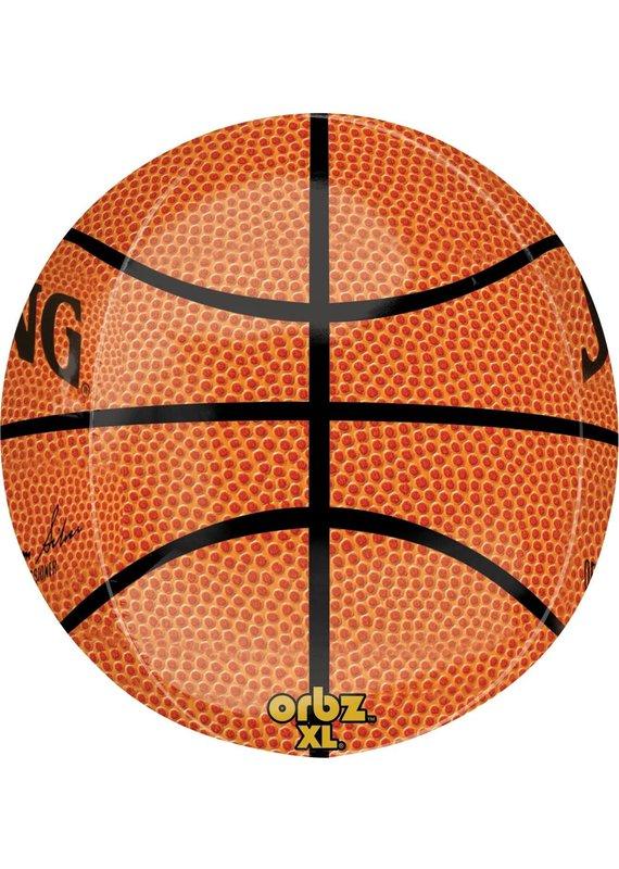 "*****NBA Spalding Basketball Orbz 16"" Mylar Balloon"