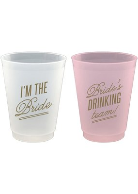 ***Bride Team 16oz  Drinking Cups