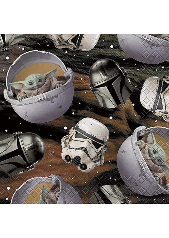****Star Wars Baby Yoda Lunch Napkins 16ct