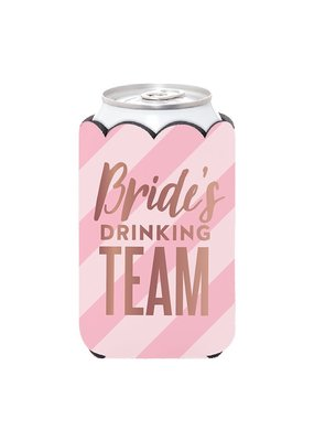 ***Bride's Drinking Team Can Holder
