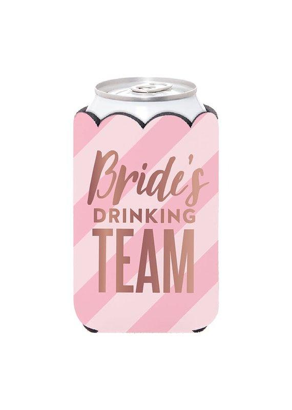 ***Bride's Drinking Team Can Holder