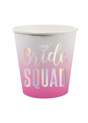 ***Bride Squad 4oz Paper Shot Cup