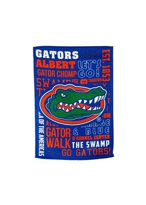 ***Fan Rules University of Florida Gators Garden Flag