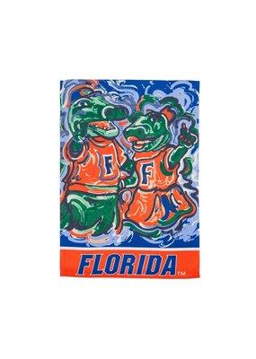 ***University of Florida Suede Garden Flag