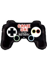 "***Game On Controller 36"" Mylar Balloon"