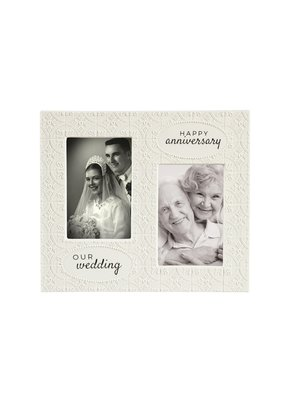 ***Our Wedding & Happy Anniversary Photo Frame