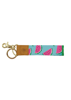 ***Simply Southern Fabric Key Chain Watermelon