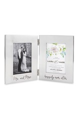 ***Bridal Engraved Folding Aluminum Frame