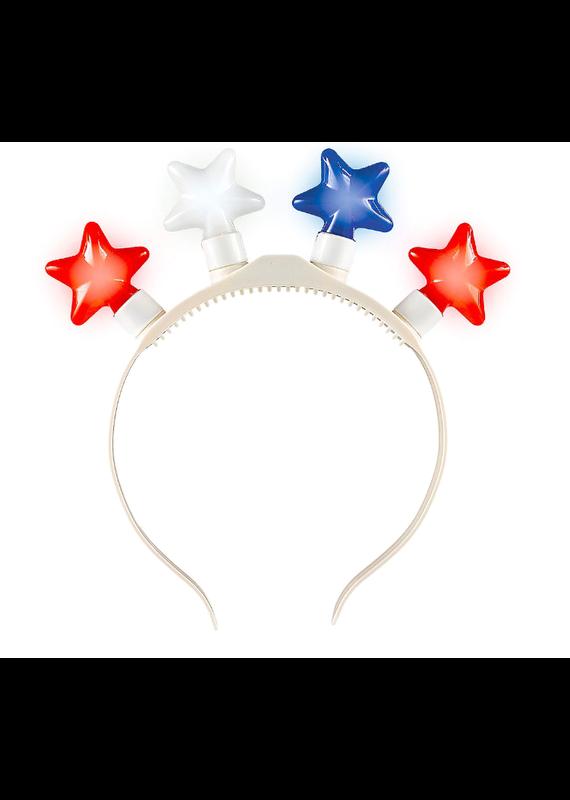 *****Light Up Patriotic Star Headband