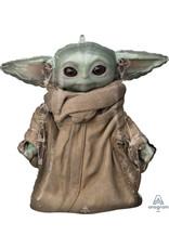 "***The Mandalorian The Child Baby Yoda Jumbo 26"" Mylar Balloon"