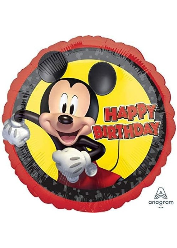 "****Mickey Mouse Forever 18"" Mylar Balloon"