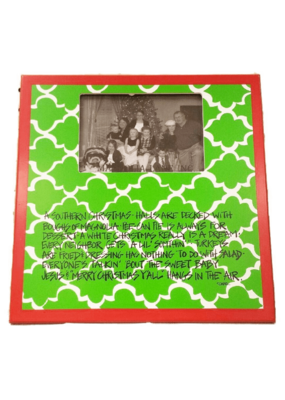 ***Southern Christmas Photo Frame