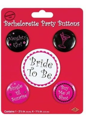 *Bachelorette Party Buttons