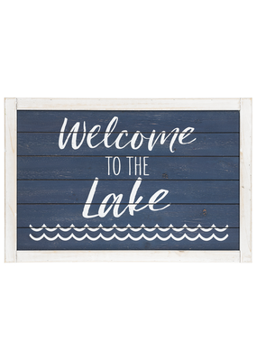 ***Welcome to the Lake Sign