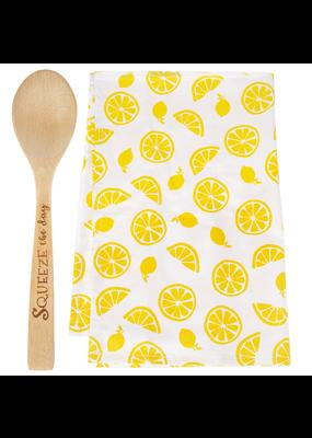 ***Lemon Dish Towel Gift Set