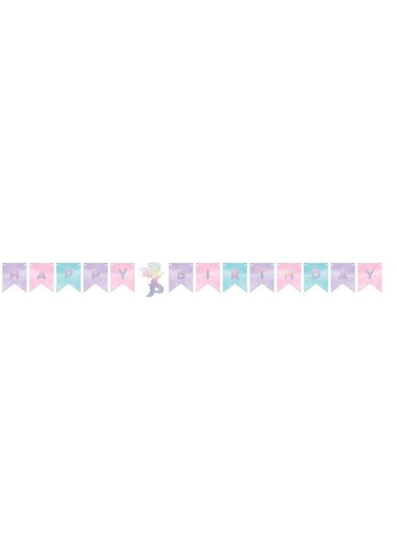 ***Mermaid Shine Ribbon Banner