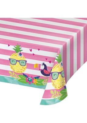 ***Pineapple & Friends Plastic Tablecover