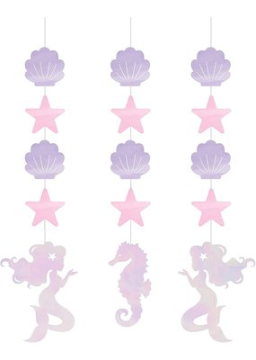 ***Mermaid Shine Hanging Cutouts