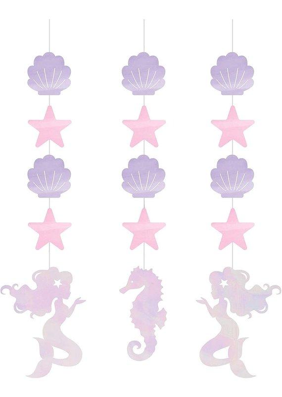 ***Mermaid Shine Hanging Cutouts